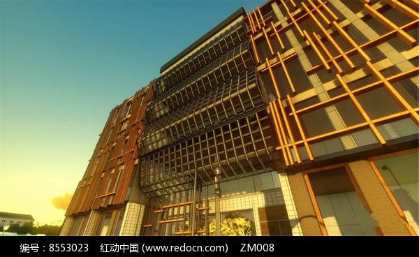 学校建筑效果图图片