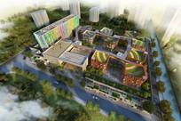 幼儿园设计鸟瞰图 JPG