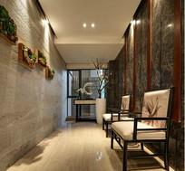 中式风格室内走道装修