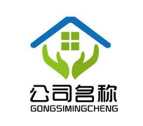 房地产家政装修公司logo