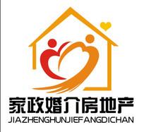 房地产物业家政婚介所logo