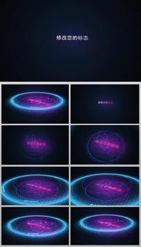 AECS6全全息科技片头视频