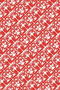 传统龙纹装饰图案