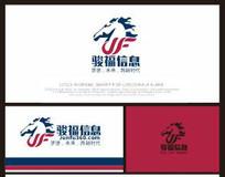 骏马F动感时尚企业标志
