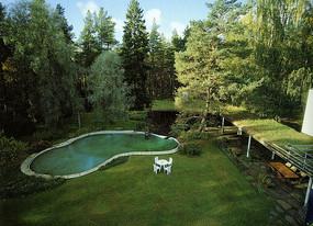 玛利亚别墅庭院绿地
