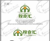 穆斯林回族风格绿色食品标志
