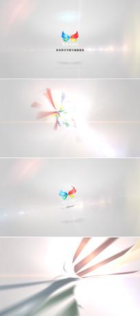 企业标志空间旋转ae模板