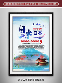 日本旅游宣传海报