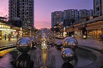 商业街水景雕塑意向