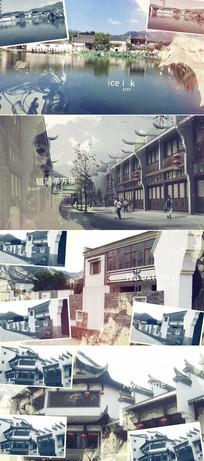 水墨江南城市宣传片头模板