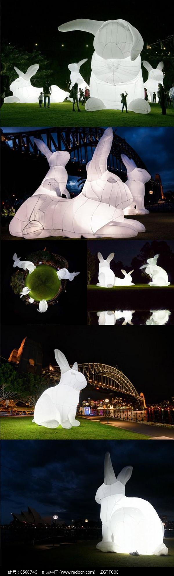 现代动物装置景观灯具