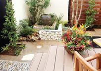 现代私家庭院景观