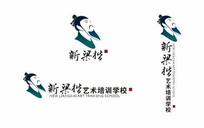 新梁楷头像文化行业标志