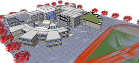 学校建筑群