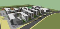 一个校园规划