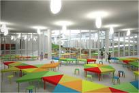 幼儿园室内空间效果图