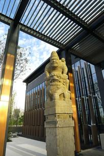 中式人物雕塑