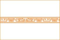 古典回龙纹移门图案 CDR