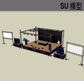 室外露天演出演唱会SU skp