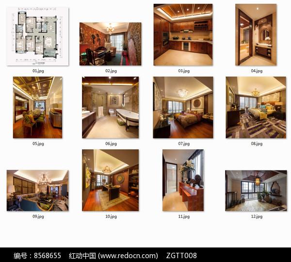 五室两厅时尚别墅室内设计图片