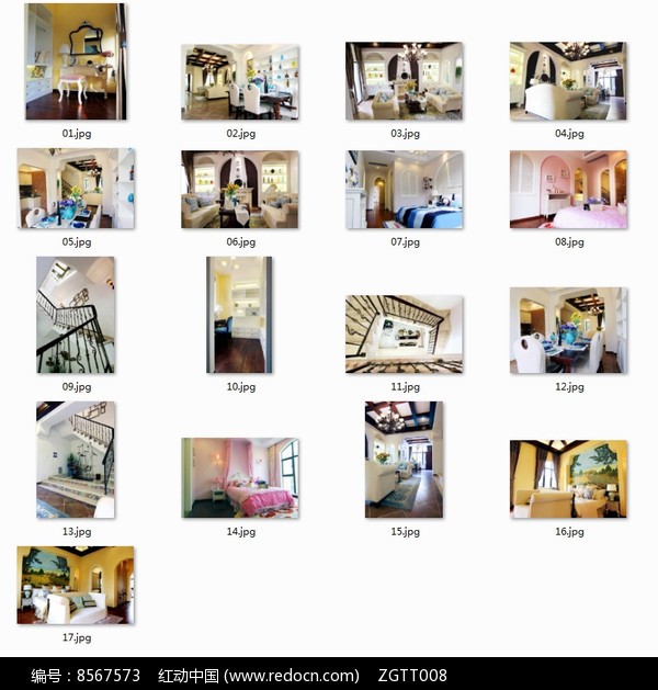 现代欧式豪华别墅室内图图片