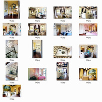 现代欧式豪华别墅室内图
