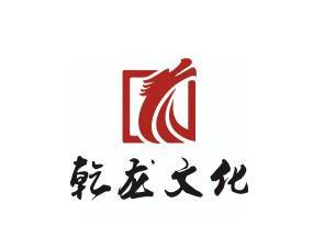 翔龙简洁线条印章文化标志