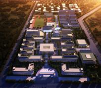 校园整体规划鸟瞰图 JPG