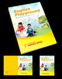 儿童英语学习封面设计