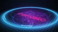 科技logo视频