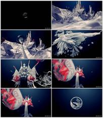 中国风3D戏曲脸谱京剧宣传片