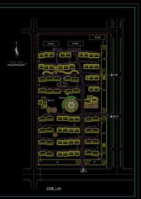地产规划设计布置平面图