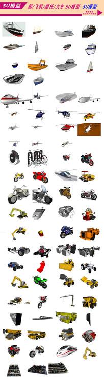机械汽车3D模型