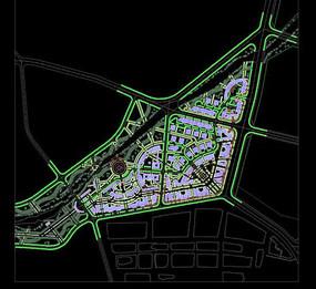 楼盘总规划设计平面图