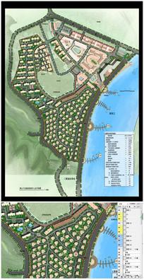 某小区整体规划彩色平面图