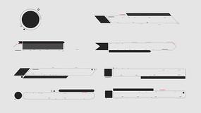 8套科技字幕条合集带A通道视频
