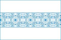传统花边纹移门图案 CDR