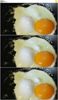 煎鸡蛋实拍视频素材 mov