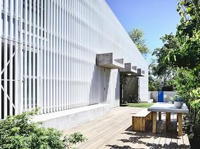建筑室外休闲平台意向图