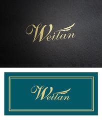 精美英文字母logo