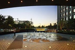 酒店前喷泉意向