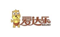 可爱小熊儿童食品卡通标志
