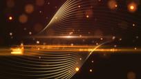 粒子线条背景视频素材