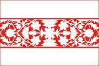 欧式复古花纹移门图案