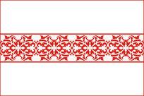 欧式古典花纹移门图案