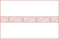 欧式卷草纹移门图案