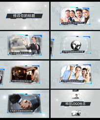 商务科技HUD宣传AE模板