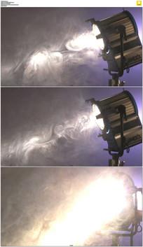舞台灯光雾气实拍视频素材