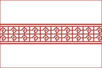 异形线条移门图案 CDR