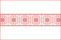 中国古典窗格纹移门图案